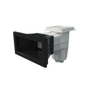 BONDE - BUSE - SKIMMER  Skimmer liner pour piscine enterrée gris anthracit