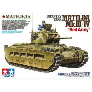 VOITURE À CONSTRUIRE Maquette char : Tank Matilda Mk.III-IV Armée Rouge