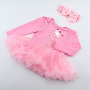 POUPÉE TEMPSA Vêtements Robe Rose +Coiffure 22'' Reborn B