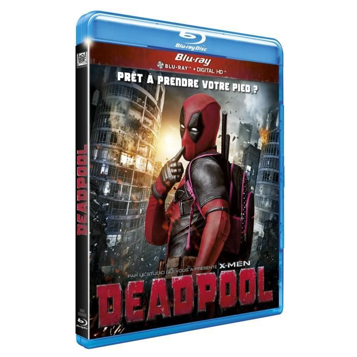 BLU-RAY FILM Blu-Ray Deadpool