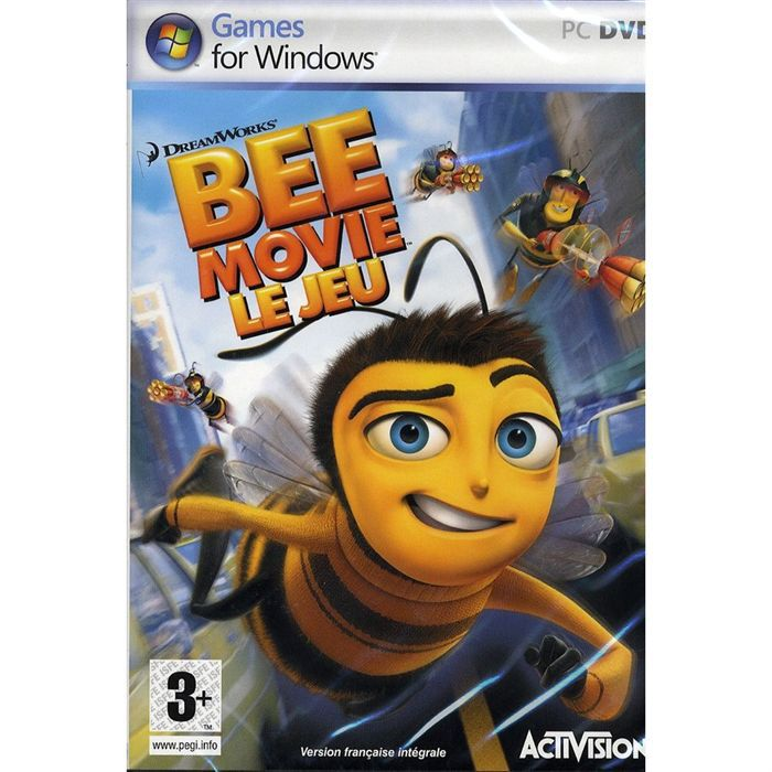 JEU PC BEE MOVIE DROLE D'ABEILLE / JEU PC CD-ROM