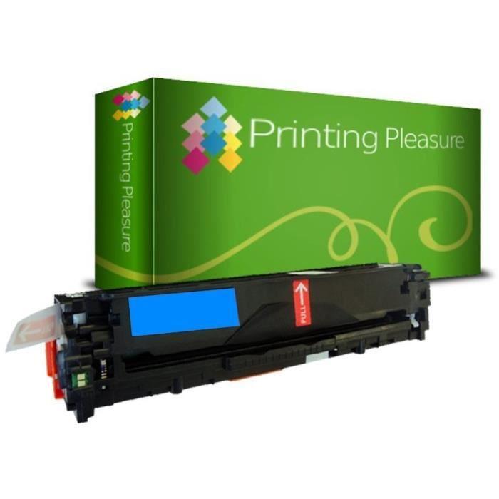 Printing Pleasure 8 Compatibles Canon 731 Cartouches de Toner...