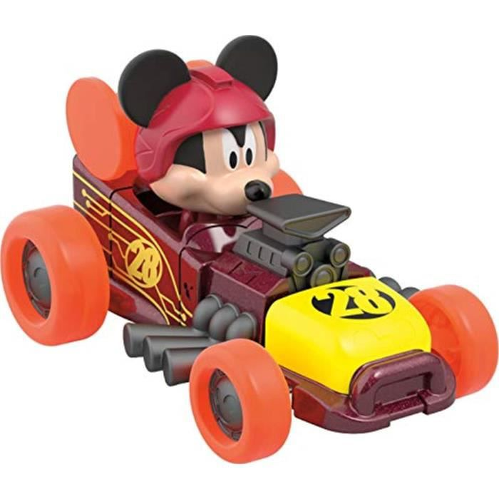 Voiture Electrique MHJD9 Disney Mickey et le Roadster Racers, Mickey Hot Rod Supercharged