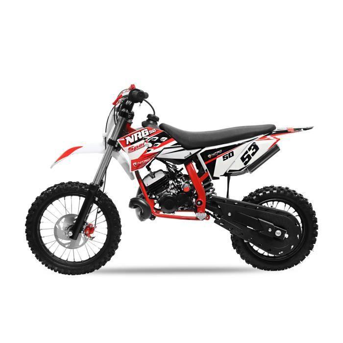 moto cross pocket Moteurs NITRO 50cc NRG 50 14 -/ 12- Nouveau design pour enfant