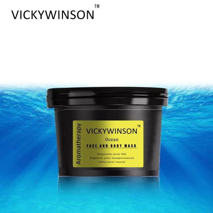 VICKYWINSON gommage d'aromathérapie océan 50g gommage corporel Gel exfoliant blanchiment de la peau exfoliant peau morte hydratant s