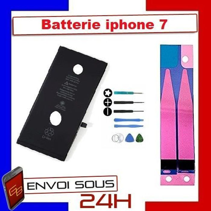 Batterie iphone 7 100% Neuve+ outil + adhesif