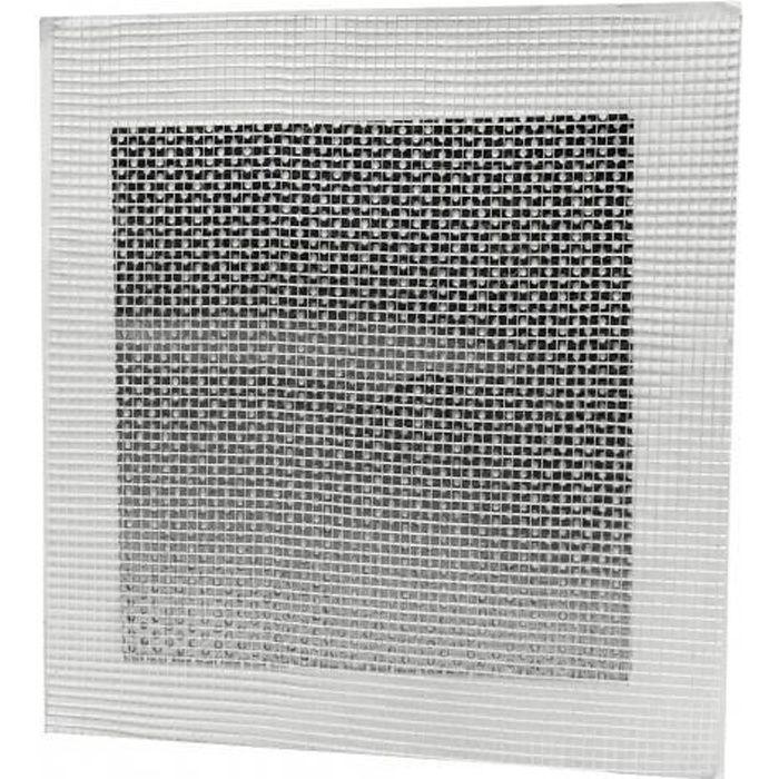 Réparateur plaque de plâtre Patch'Up EDMA - 15 x 15 cm - 178055