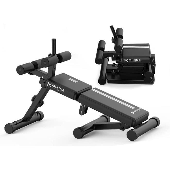 Banc De Musculation Pliable Bancs De Musculation Utilitaires, Banc De Musculation Réglable Banc De Levage Assis, Gym à Domicile A341