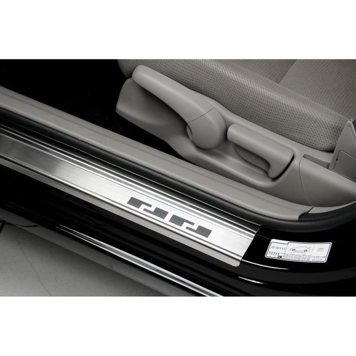 Les Seuils de Porte Suzuki Sx4 S-Cross a partir de 2013 100% acier inoxydable Alur-Frost