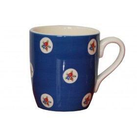 Mugs 30 cl - lot de 6 - FLOWERS Bleu