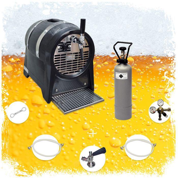 Ensemble complet de robinets système de refroidissement fût de fête 1 sortie, 60 litres/h, refroidisseur à sec [Type S]