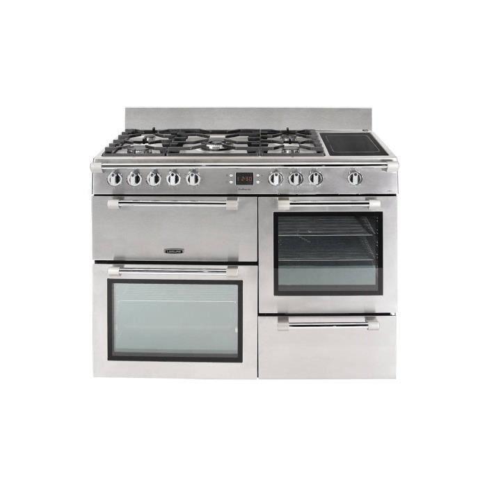 Leisure Cookmaster CK110F324X Cuisinière (four à deux étages) pose libre largeur : 110 cm profondeur : 60 cm hauteur : 90 cm…