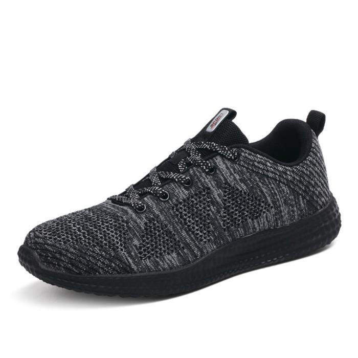 chaussures de sport de sport léger des chaussures de course des hommes formateurs de marche chaussures de formateurs de marche 3ZUTS