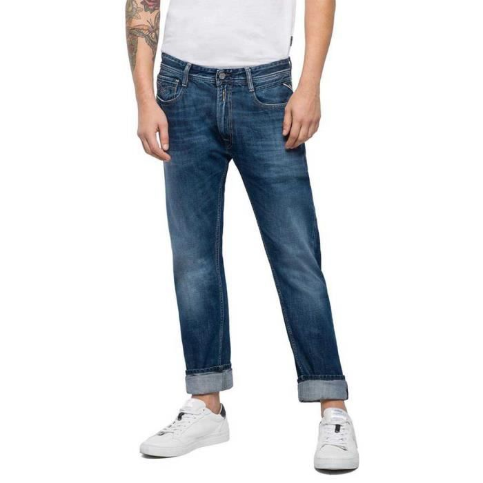 Vêtements Homme Pantalons Replay Tapered Rob L34