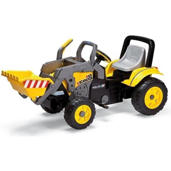PEG PEREGO Tracteur à pédales Maxi Excavatrice