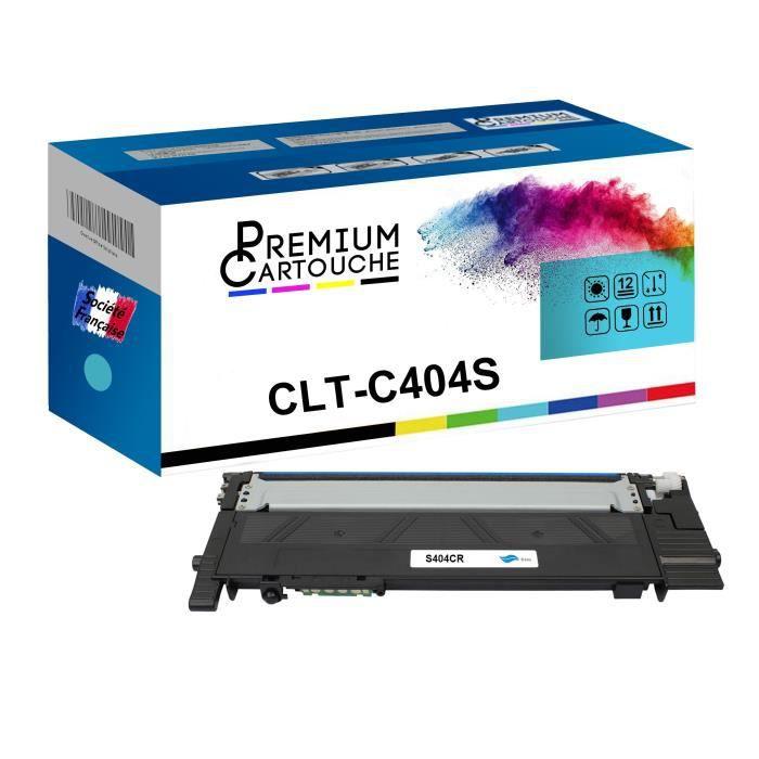 Toner CLT-404S Cyan Compatible pour Samsung Xpress C 430 Xpress C 430 Series Xpress C 430 W Xpress C 480 Xpress C 480 FN Xpress C 48
