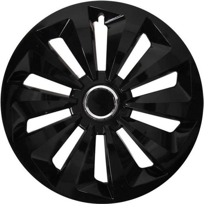ProPlus hubcap Fox 14 pouces noir ABS pièce