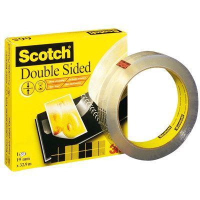Rouleau scotch double face 19mmx33M