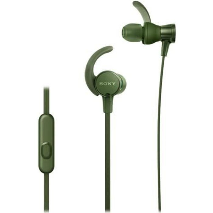 SONY - Ecouteurs sport intra-auriculaires EXTRA BASS™ XB510AS - Vert