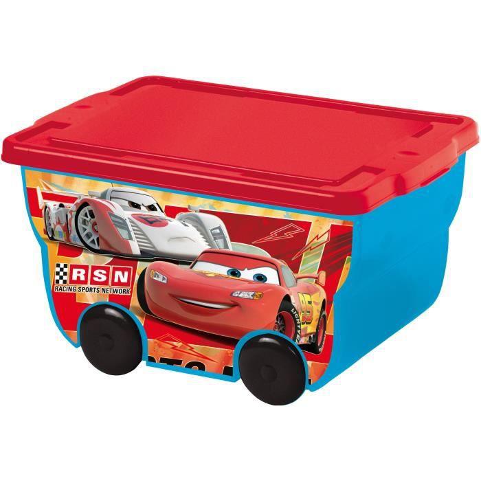 Grand coffre à jouets Cars