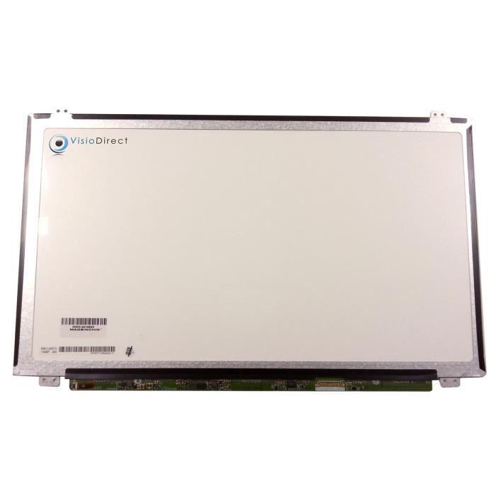 Dalle ecran 15.6- LED compatible avec ASUS Chromebook C523NA-DH02 1920x1080 30 pin 350mm avec fixation