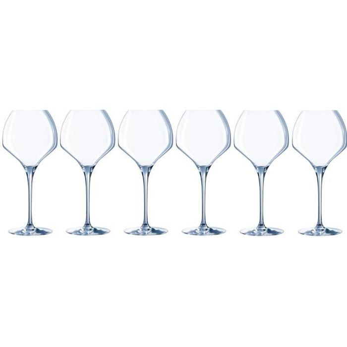 CHEF ET SOMMELIER Lot de 6 verres à vin OPEN UP - 47 cl - Achat ... 18fb98266883