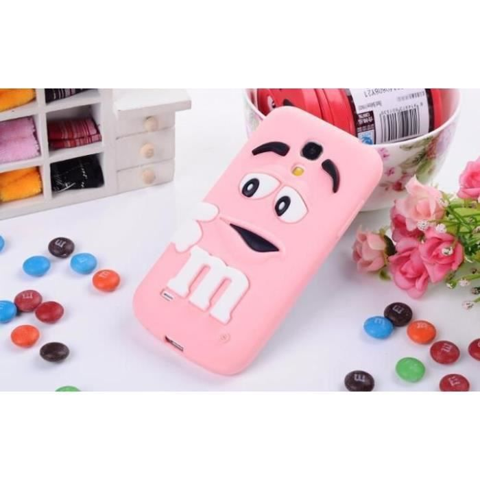 coque samsung galaxy s4 mini rose