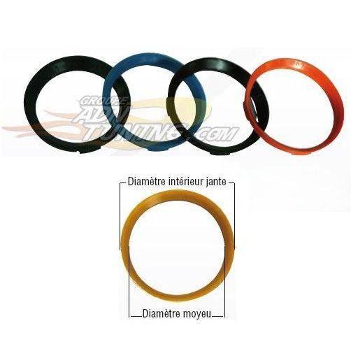 4 Bagues de centrage distance anneaux pour jantes Alu-taille ø 70,1 mm-ø 66,6 mm NOUVEAU *