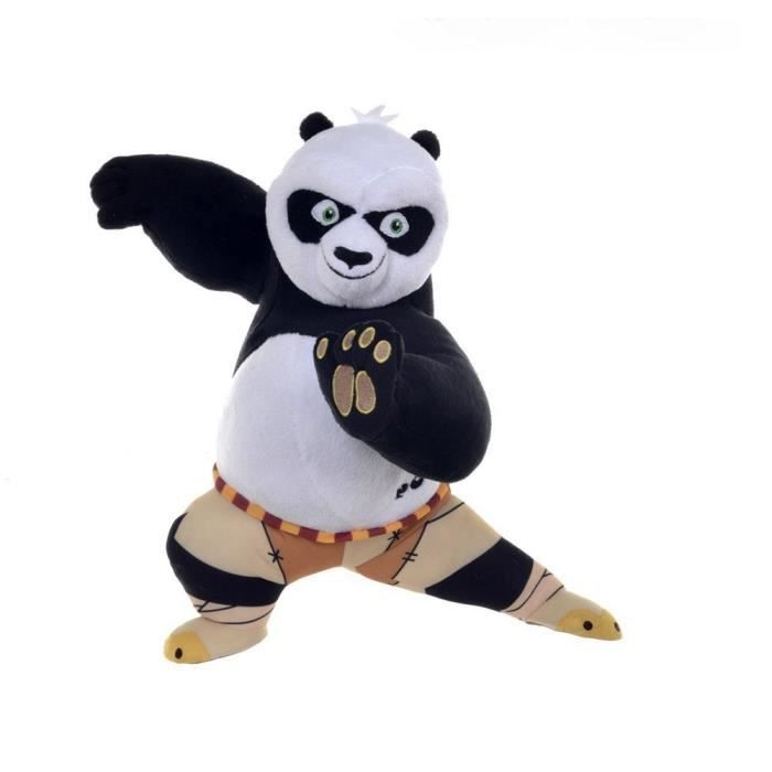 peluche po 25 cm kung fu panda 3 bagarre achat vente peluche cdiscount. Black Bedroom Furniture Sets. Home Design Ideas