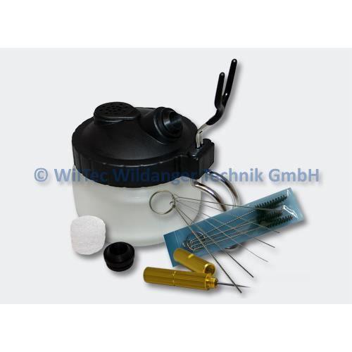 TRIXES Airbrush Kit de nettoyage avec pinceaux et aiguilles