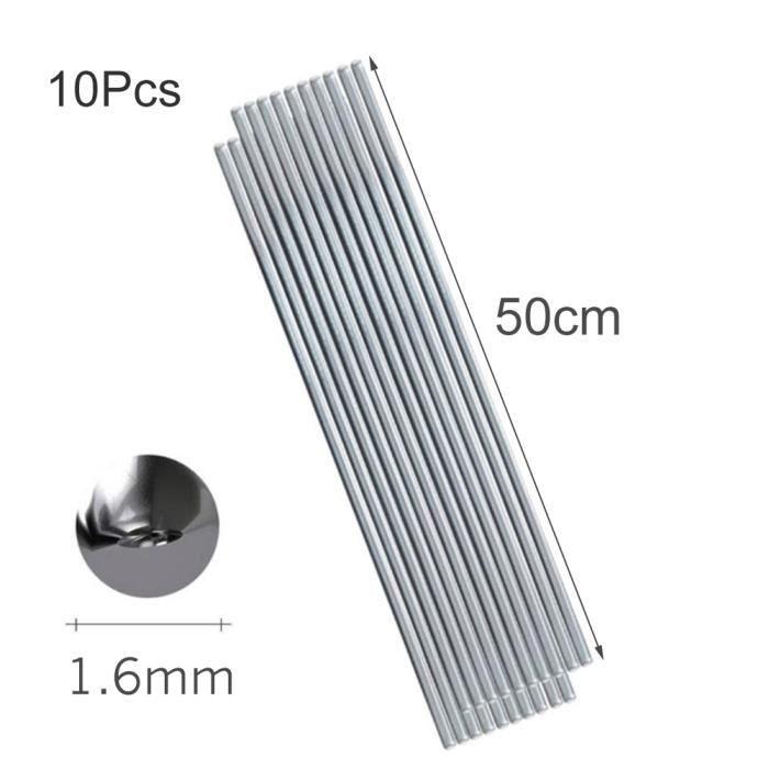 3 mm 5PCS Fil de soudage au fil fourr/é /à souder Rod basse temp/érature tige en aluminium /à souder 2 mm 4 mm 230mm Pas besoin de soudure en poudre Baguettes de soudage universel 10pcs