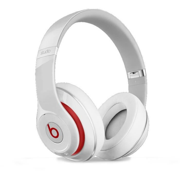beats studio 2 blanc casque audio avec micro int g casque couteur audio avis et prix pas. Black Bedroom Furniture Sets. Home Design Ideas
