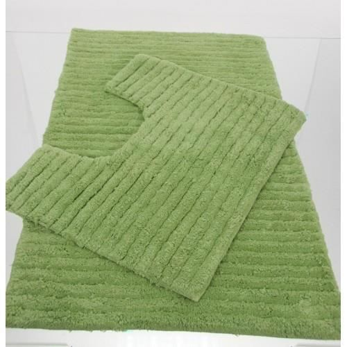 tapis salle de bain contour wc vert anis achat vente tapis de bain cdiscount. Black Bedroom Furniture Sets. Home Design Ideas