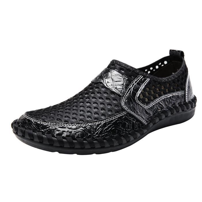 Ocheso Slip-on Water Shoes Summer Casual Shoes Breathable Outdoor Walking Loafers E4XTB Taille-38 1-2 5ssPzI