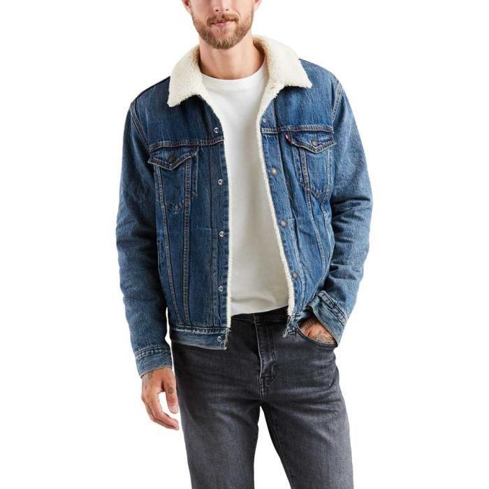 VESTE Vêtements Homme Vestes Levi´s ® Type 3 Sherpa Truc