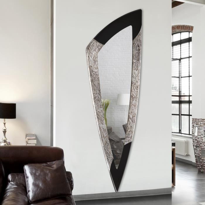 miroir d coratif mural design italien spike pintdecor d cor la main achat vente miroir. Black Bedroom Furniture Sets. Home Design Ideas