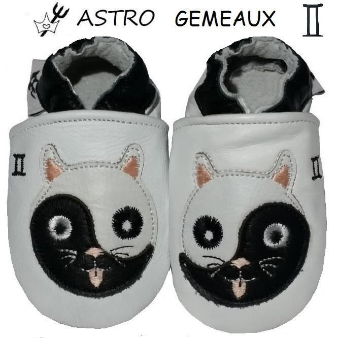 CHAUSSONS CUIR ASTRO BEBE 12-18MOIS