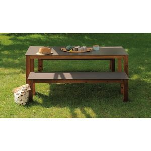 Table a manger avec banc achat vente table a manger for Place a table par personne