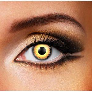 LENTILLES DE CONTACT Lentilles de contact - Yeux Glamour Couleur Miel -