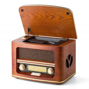 RADIO CD CASSETTE SHUMAN Radio rétro MC-261 Nostalgic (AM - FM) avec