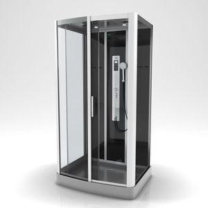 CABINE DE DOUCHE AURLANE cabine de douche premium 2 rectangle 115x9