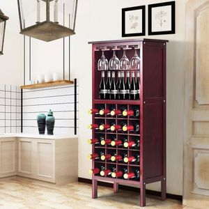 MEUBLE ÉTAGÈRE COSTWAY Étagère à Vin Range Bouteille Casier à Vin
