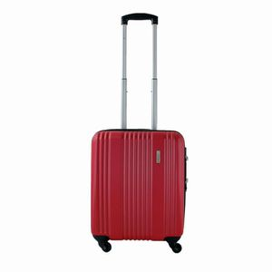 VALISE - BAGAGE Valise cabine rigide 4 roues 54 cm 50 ROUGE