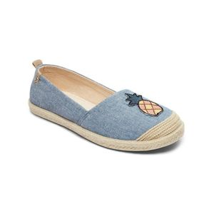 SLIP-ON Chaussures Slip-on Femme Roxy Flora II Chambray