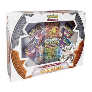 CARTE A COLLECTIONNER Coffret 6 Boosters Pokemon : Version Française - C
