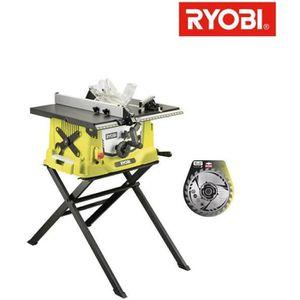 SCIE ÉLECTRIQUE Pack Ryobi scie sur table électrique 1800W 254mm p