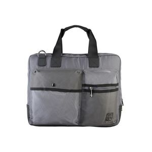 BESACE - SAC REPORTER SERGIO TACCHINI Mallettes 38 cm Gris Homme
