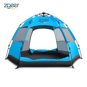 TENTE DE CAMPING Tente Ultra légère Randonnée Dôme Tente pour 3-4 P