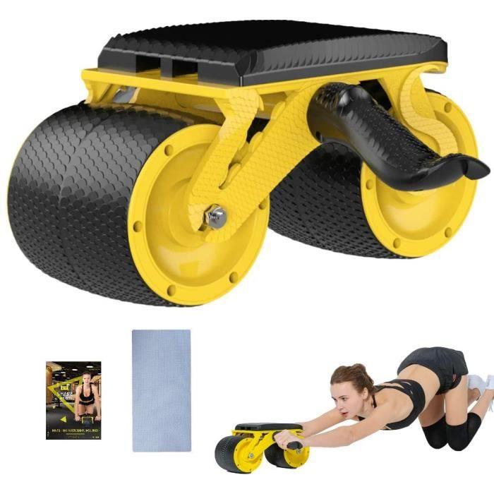 Fitness et Appareils abdominaux-Roues AB - Ab Roller Wheel - Ab Roller -Roue D'exercice pour Abdominaux avec Musculation