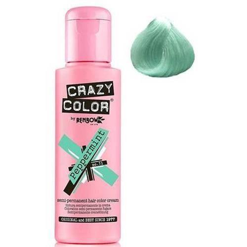 Coloration Crazy Color Peppermint 100 ml